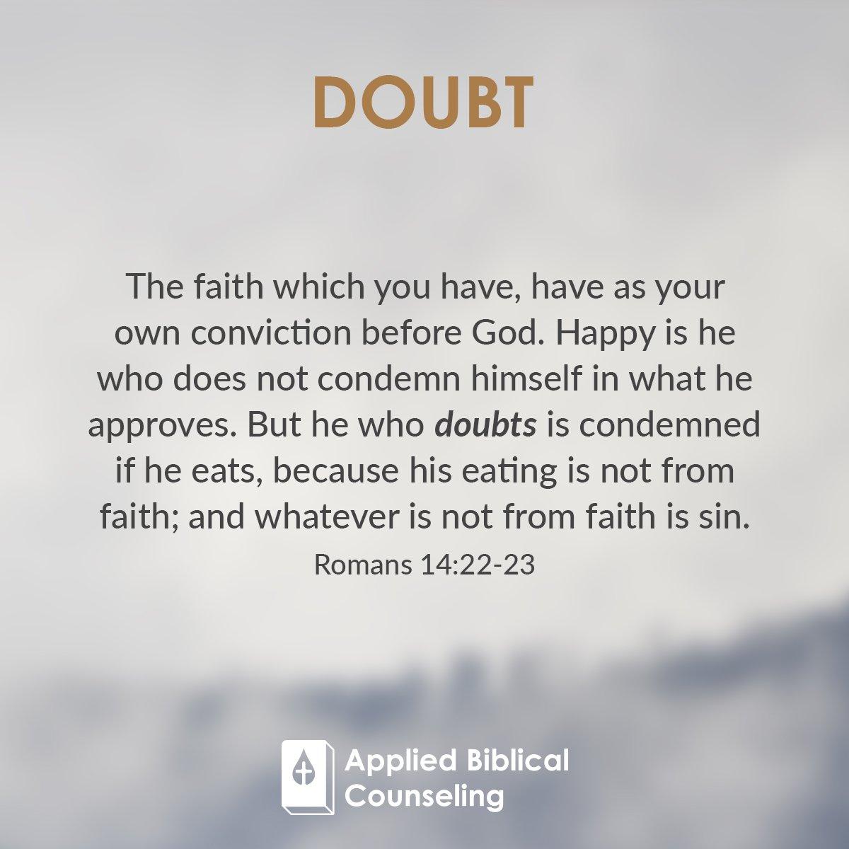 Doubt 3