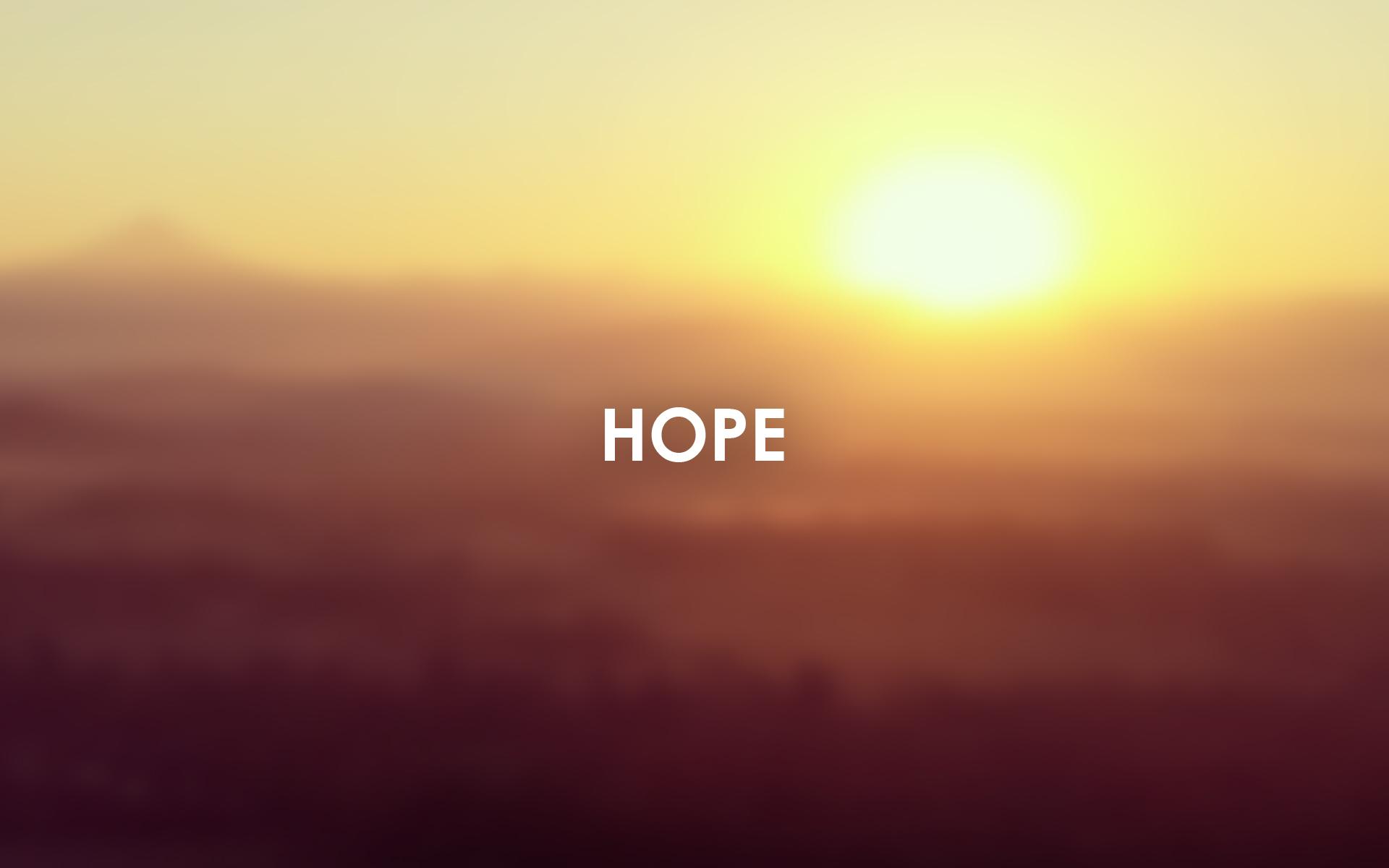 ABC Wallpaper hope