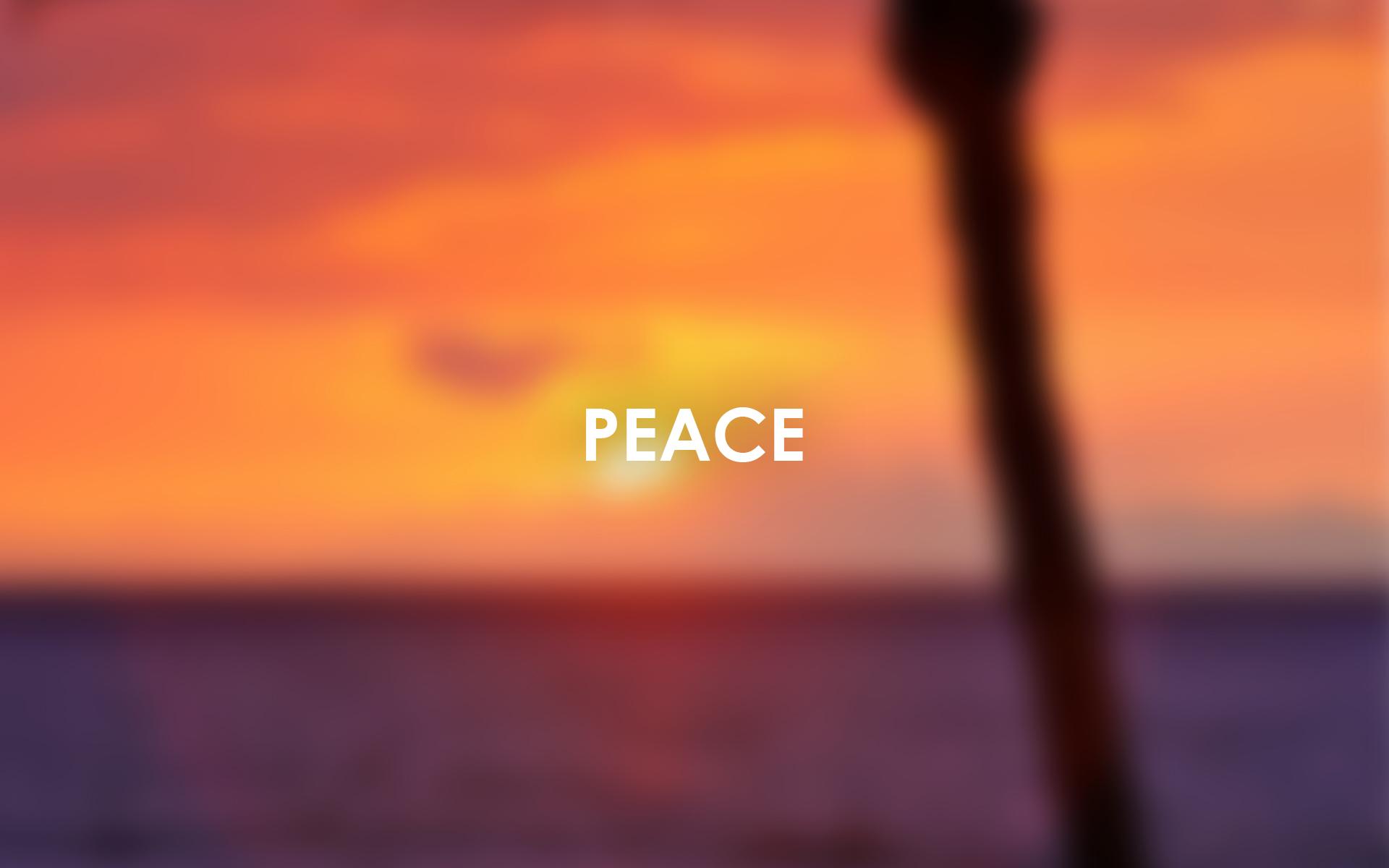 ABC Wallpaper peace