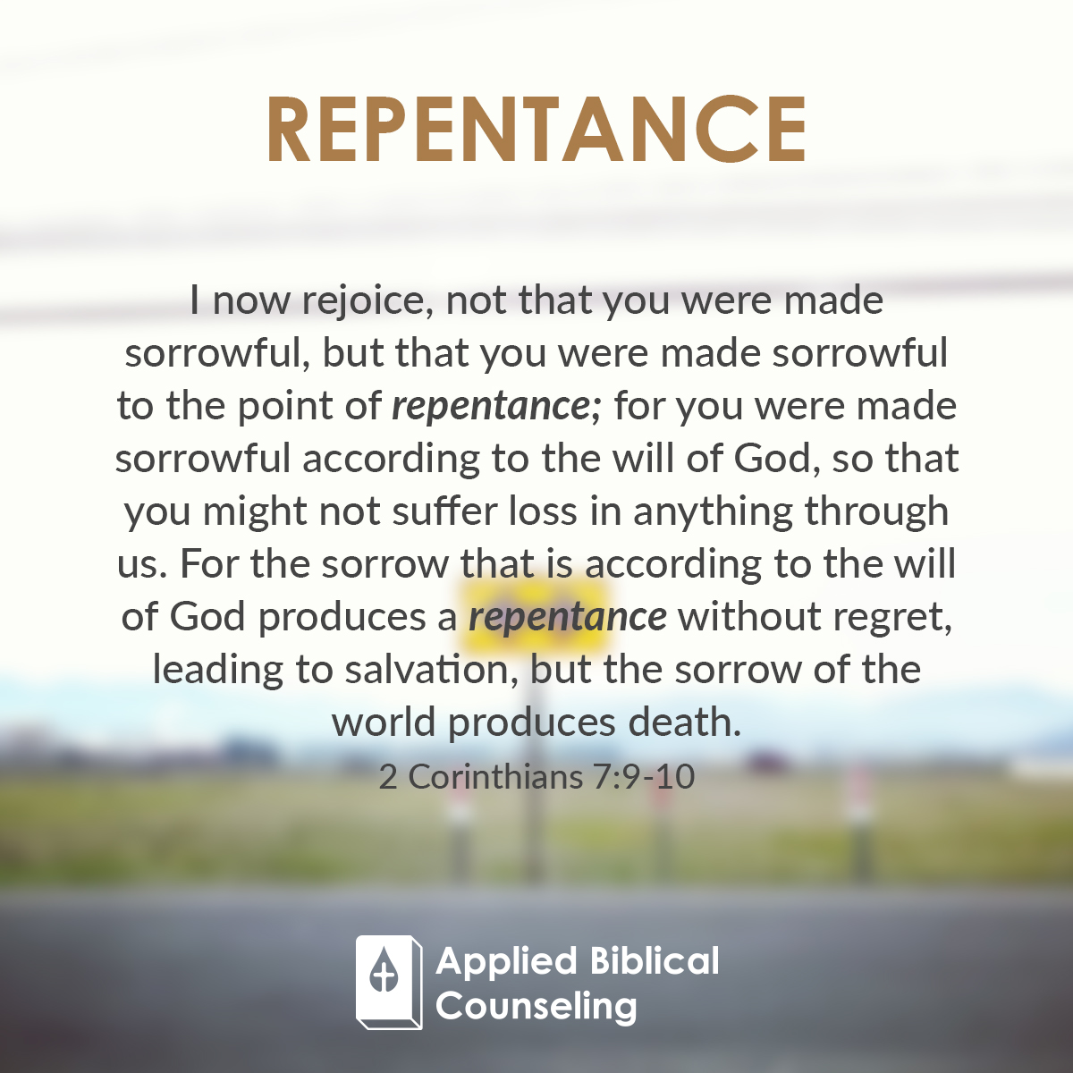 Applied Biblical Counseling Facebook w19 Repentance 1