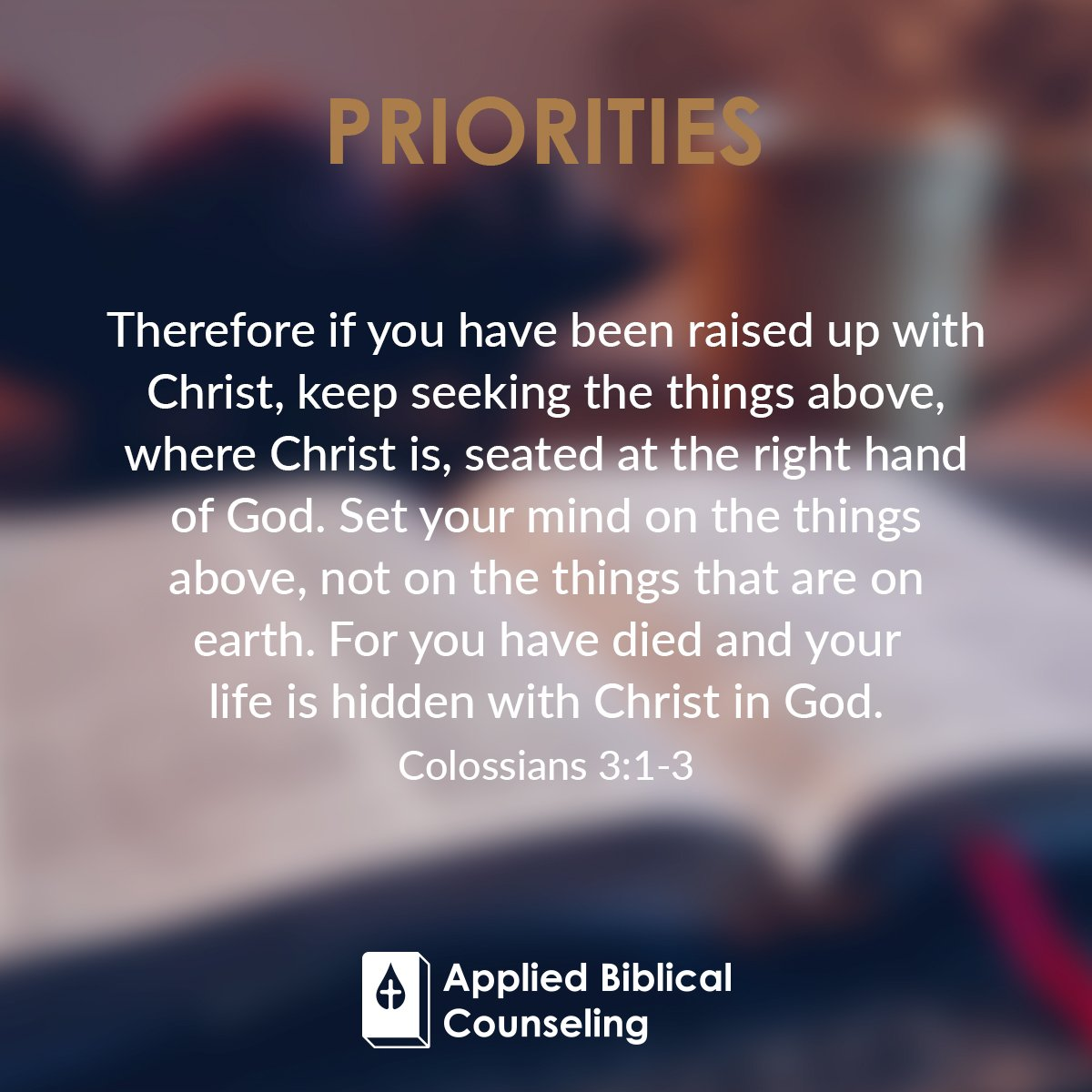 Priorities 1