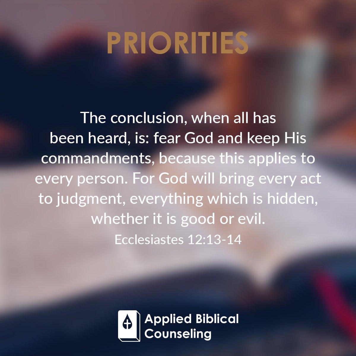 Priorities 2
