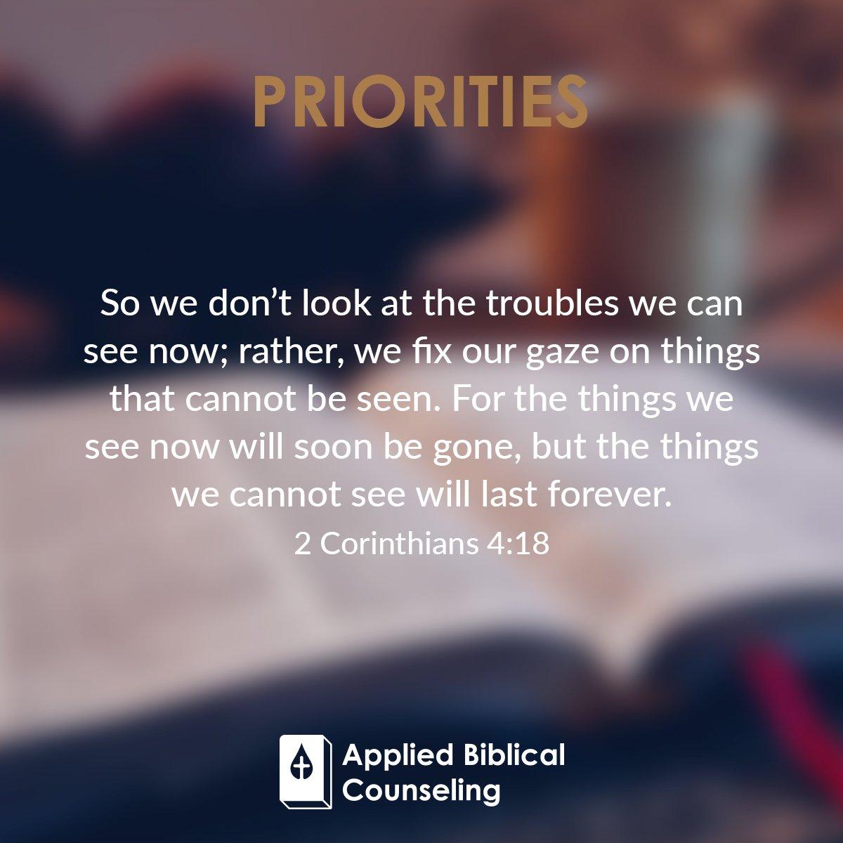 Priorities 3