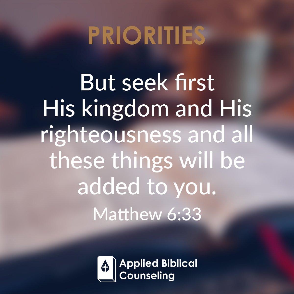 Priorities 5