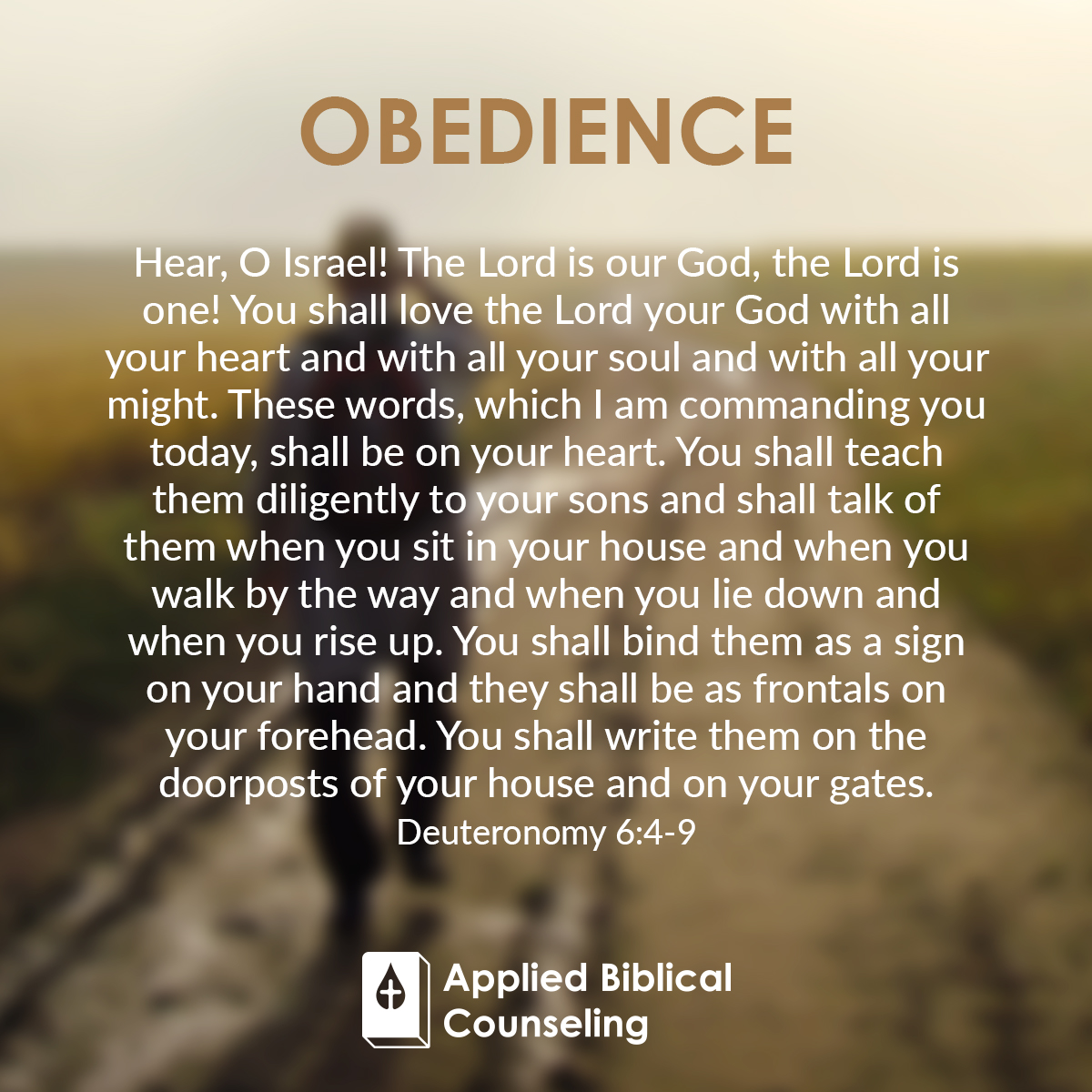Applied Biblical Counseling Facebook w23 Obedience 1