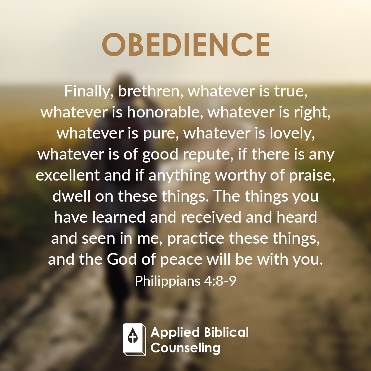 Applied Biblical Counseling Facebook w23 Obedience 5