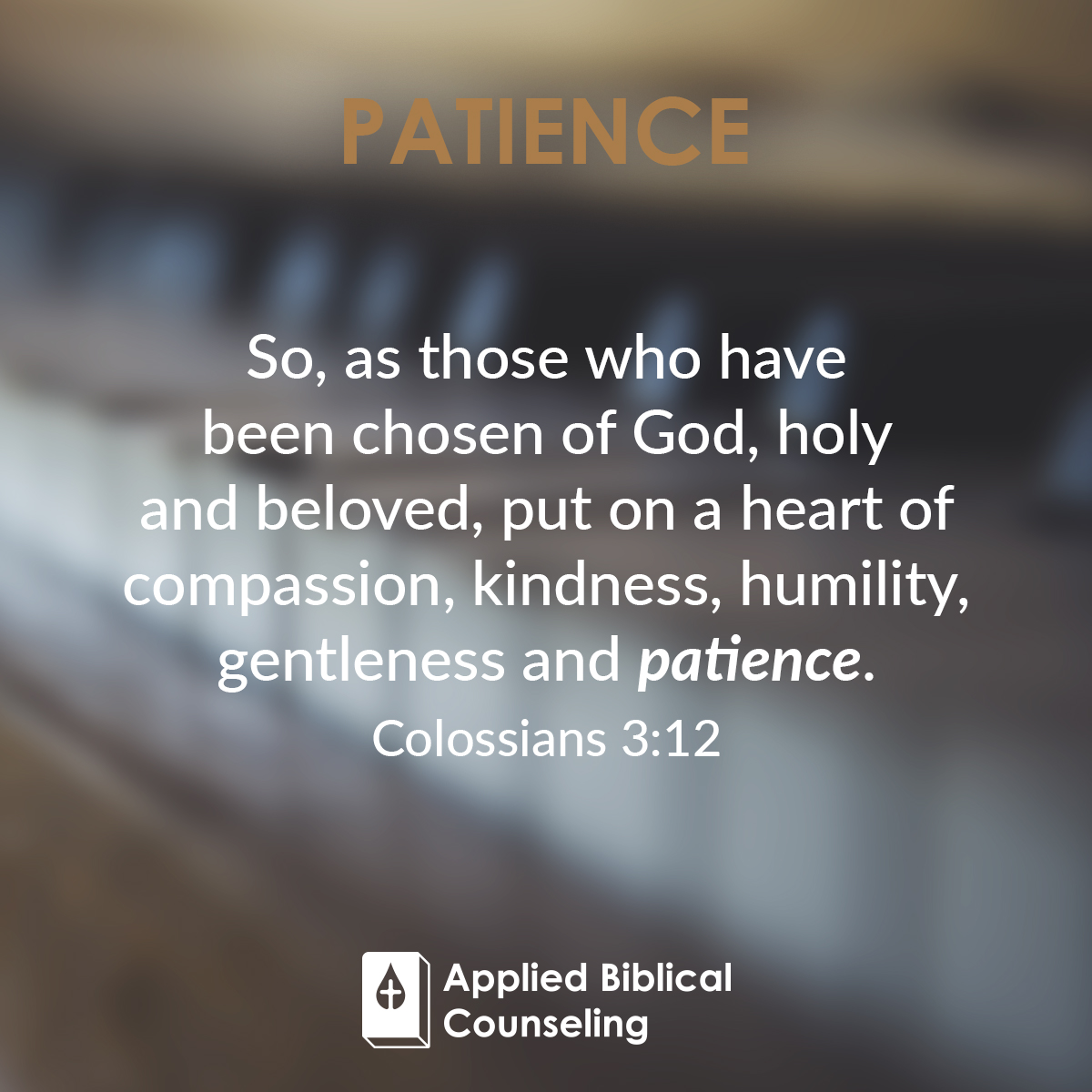 Applied Biblical Counseling Facebook w26 Patience 1