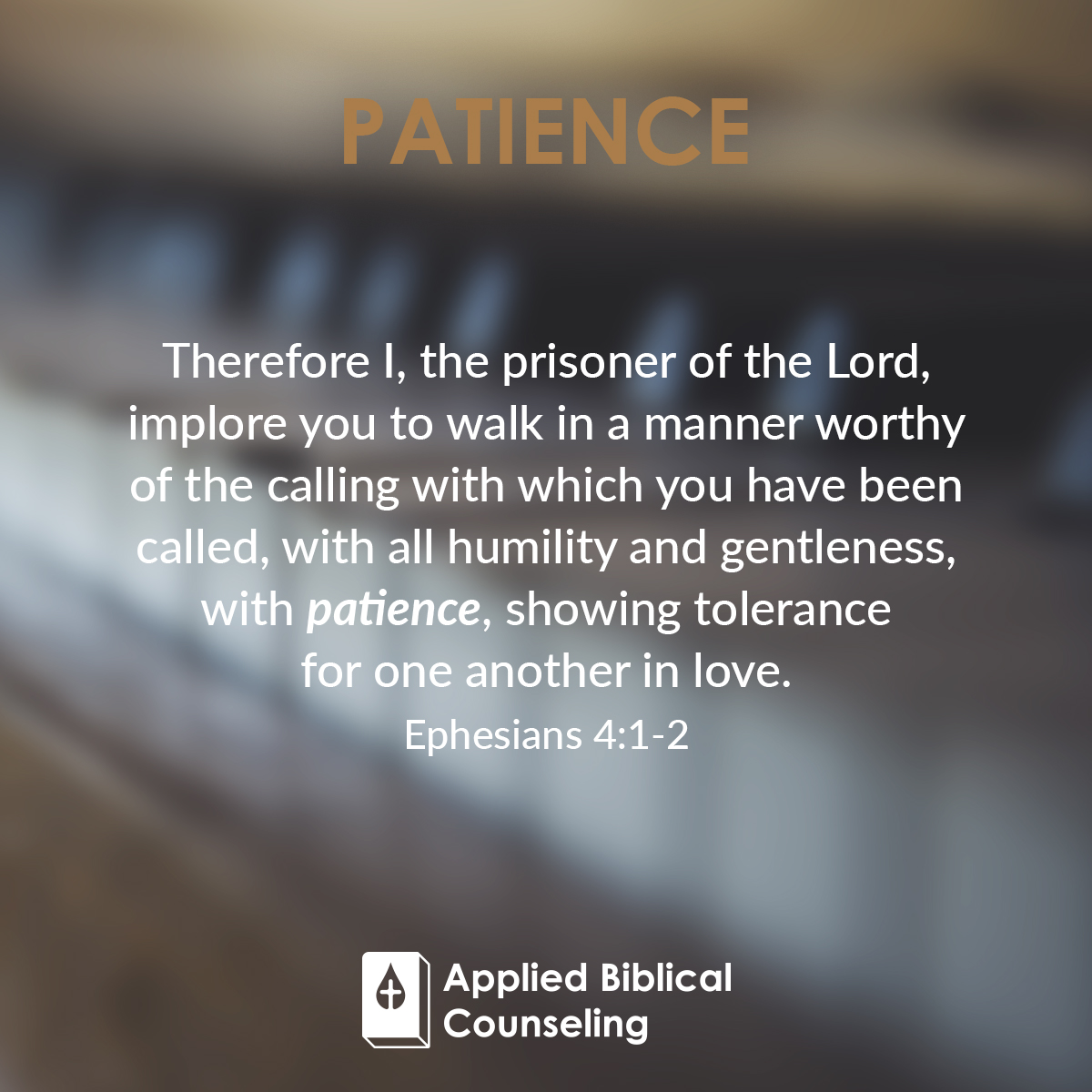 Applied Biblical Counseling Facebook w26 Patience 2