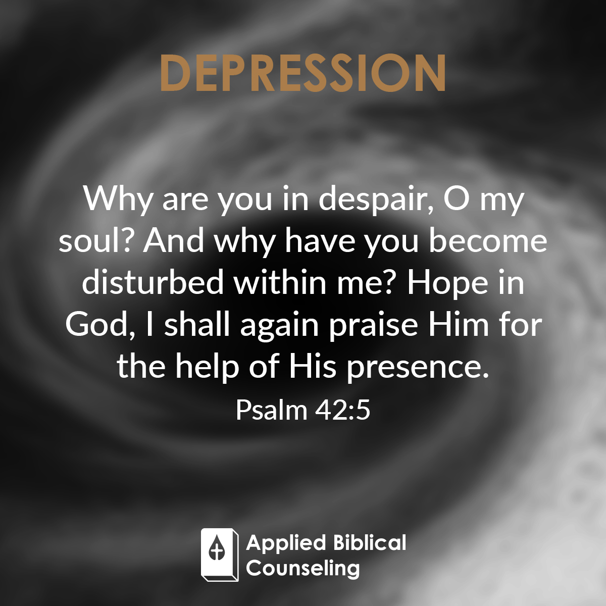 Applied Biblical Counseling Facebook w27 Depression 1