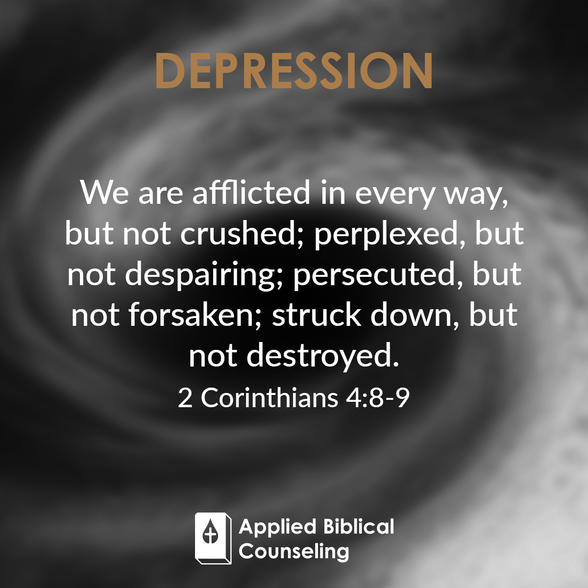 Applied Biblical Counseling Facebook w27 Depression 2