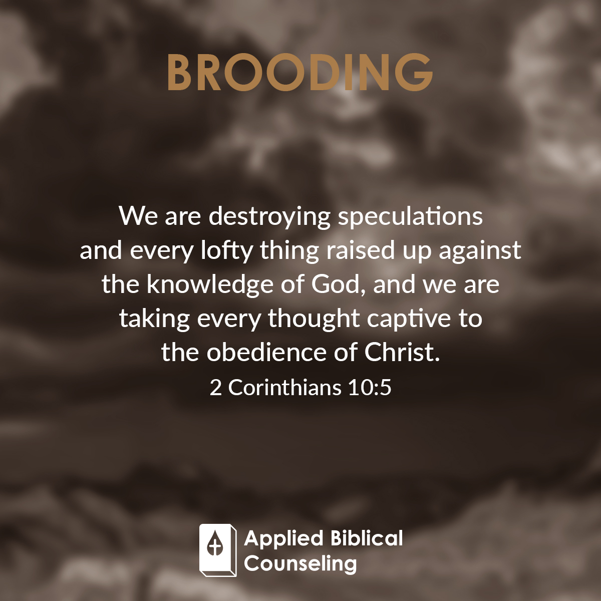 Brooding Applied Biblical Counseling 2