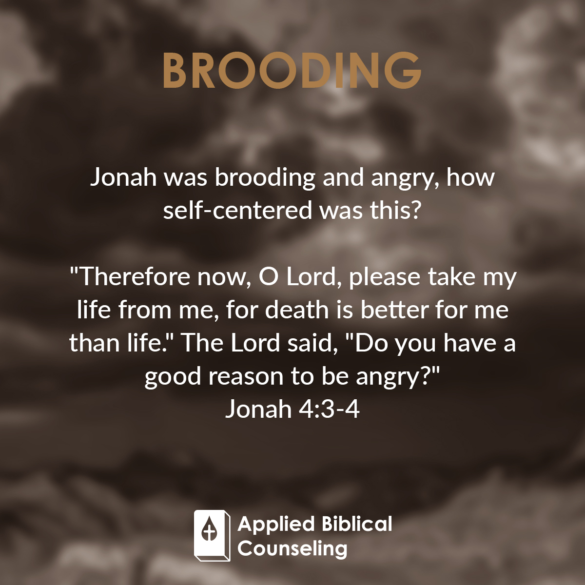 Brooding Applied Biblical Counseling 4