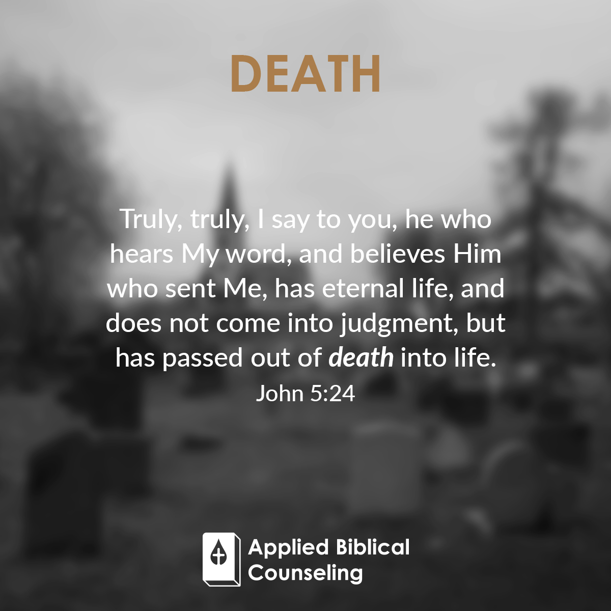 Death Applied Biblical Counseling 2