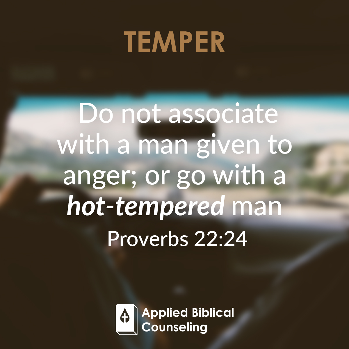 Temper Applied Biblical Counseling 1