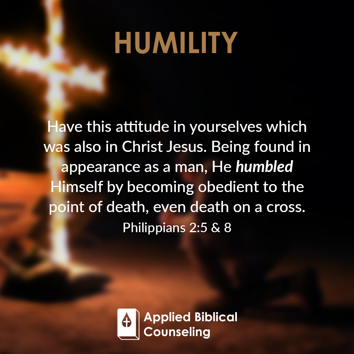 Humility Applied Biblical Counseling 1