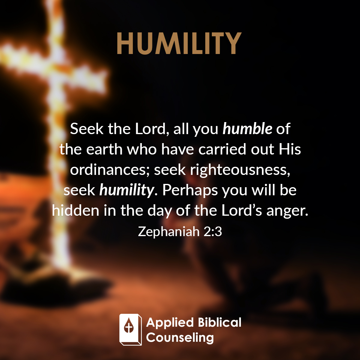 Humility Applied Biblical Counseling 3