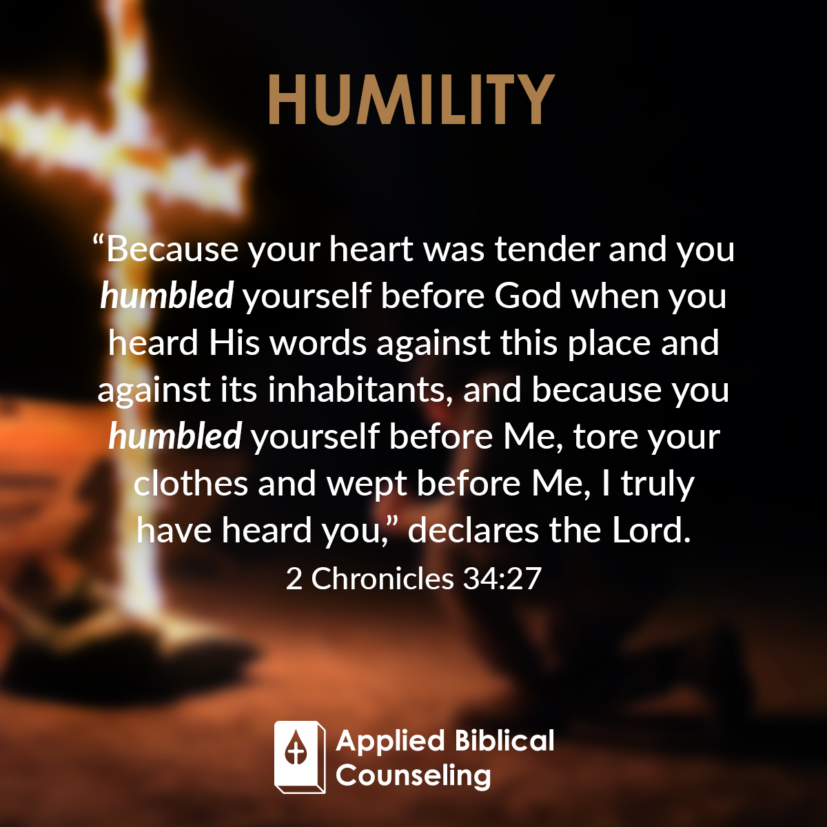 Humility Applied Biblical Counseling 5